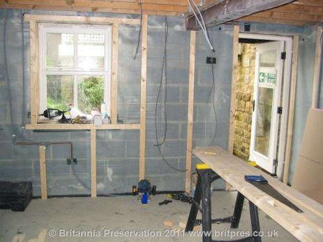 Basement Flooding Flooded Kitchen Britannia Preservation